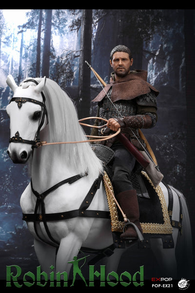 1/6 Scale Chivalrous Robin Hood War Horse Figure by Pop Toys