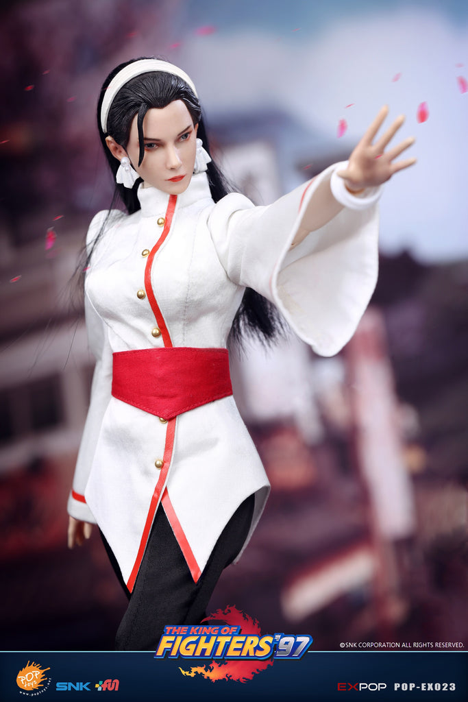 1/6 Scale The King of Fighters 97' - Chizuru Kagura Figure by Pop Toys