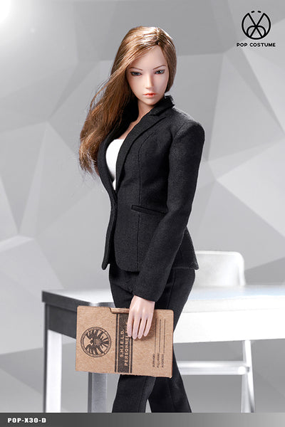 1/6 Scale Office Lady Pant Suit (4 Colors) by Pop Toys