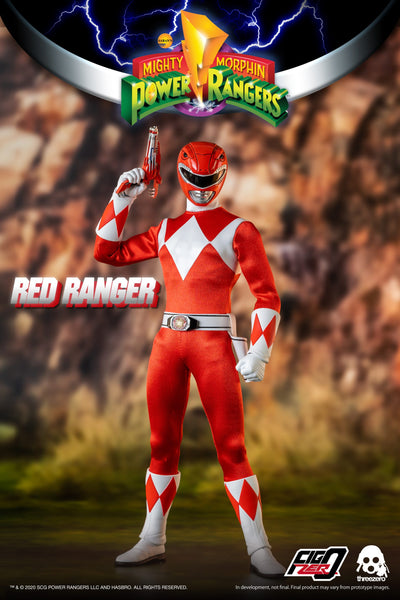 1/6 Scale Mighty Morphin Power Rangers - Red Ranger Figure by Threezero