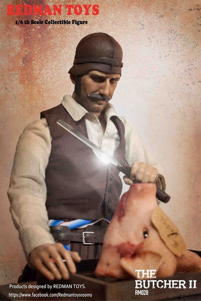 1/6 Scale The Butcher II Figure by Redman Toys