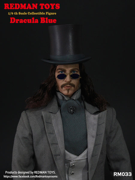 1/6 Scale Dracula Blue Figure by Redman Toys