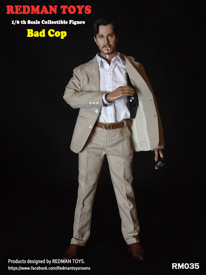 1/6 Scale The Bad Cop Figure by Redman Toys
