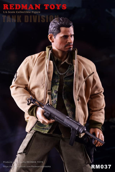 1/6 Scale Fury Tank Division Gordo Figure by Redman Toys