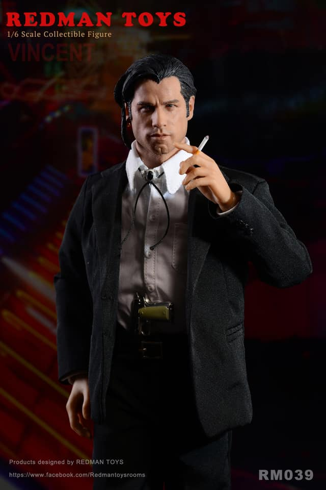 Redman Toys Rmt 039 1 6 Scale Hitman Vincent Figure One Sixth Outfitters
