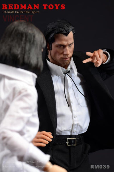 1/6 Scale Hitman Vincent Figure by Redman Toys