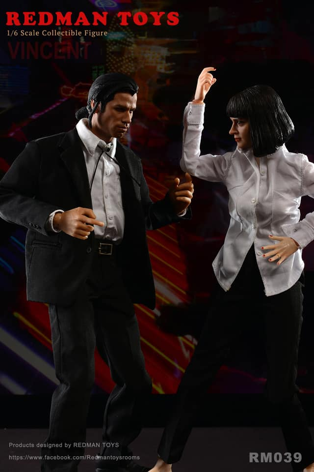 1/6 Scale Vincent & Mia Figure Bundle by Redman Toys