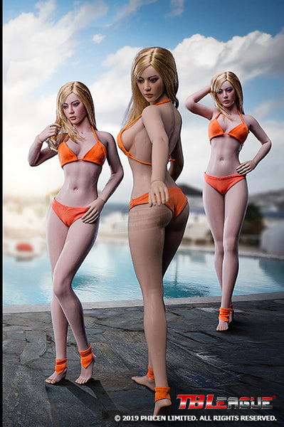 1/6 Scale Female Super-Flexible Seamless Body (PL-MB2019-S32A-S33B) by TBLeague