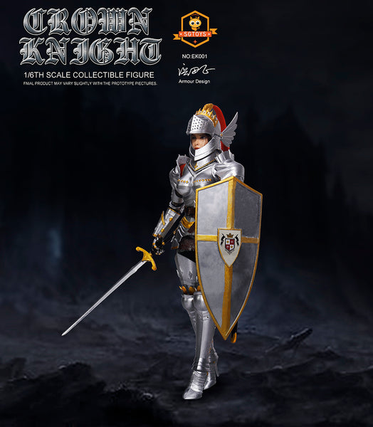 1/6 Scale Crown Knight Figure by SGToys