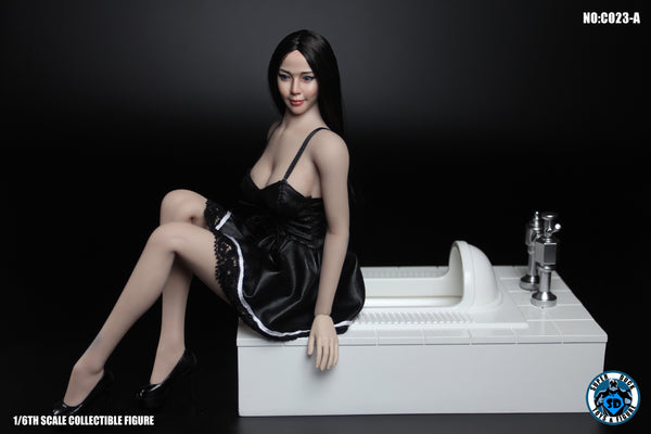 1/6 Scale Squat Toilet (2 Versions) by Super Duck Toys