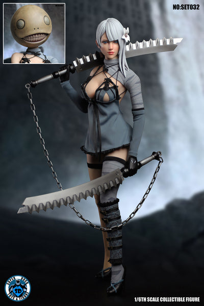 1/6 Scale Kaine Head Sculpt & DLC Outfit Set by Super Duck Toys
