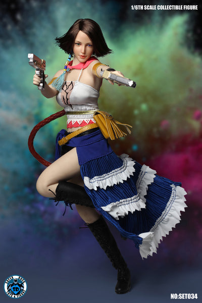 1/6 Scale X-2 Yuna Summoner Head Sculpt & Outfit Set by Super Duck Toys