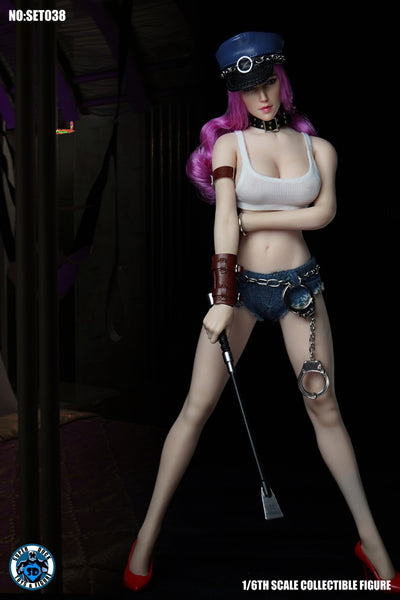1/6 Scale Poison Head Sculpt & Outfit Set by Super Duck Toys