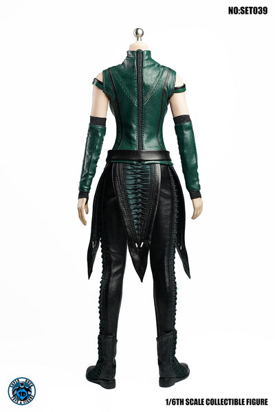 1/6 Scale Female Mantis Head Sculpt & Outfit Set by Super Duck Toys