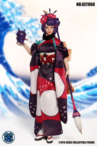 1/6 Scale Hokusai Head Sculpt & Outfit Set by Super Duck Toys