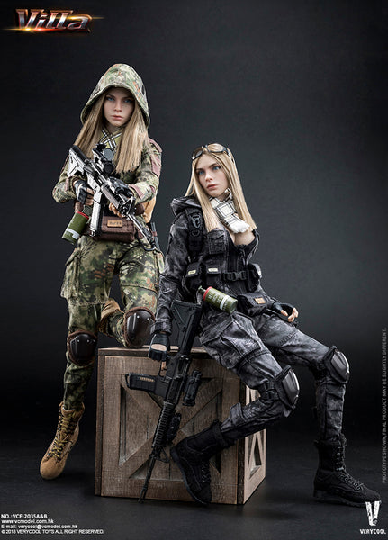 1/6 Scale Villa Sister Figure (2 Versions) by VeryCool