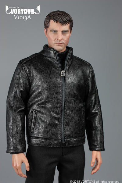 1/6 Scale Spy Killer Leather Jacket Outfit (2 Colors) by VorToys