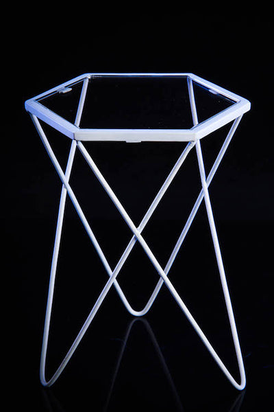 1/6 Scale Metal Hexagon Desk (2 Colors) by VS Toys