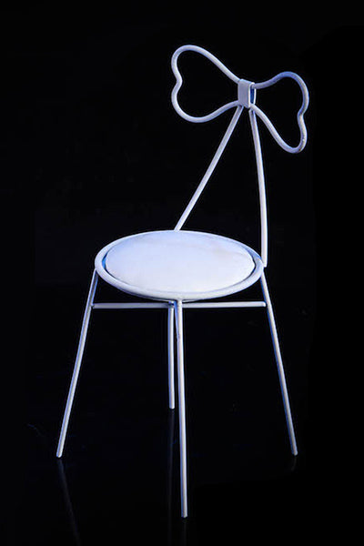 1/6 Scale Metal Bow Chair (2 Colors) by VS Toys