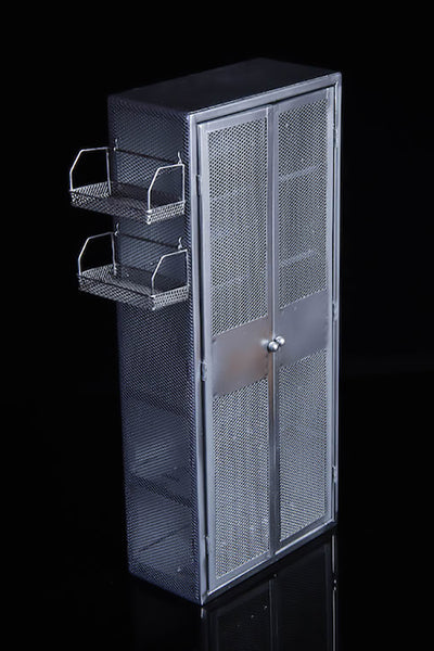 1/6 Scale Metal Weapons Storage Cabinet (2 Colors) by VS Toys
