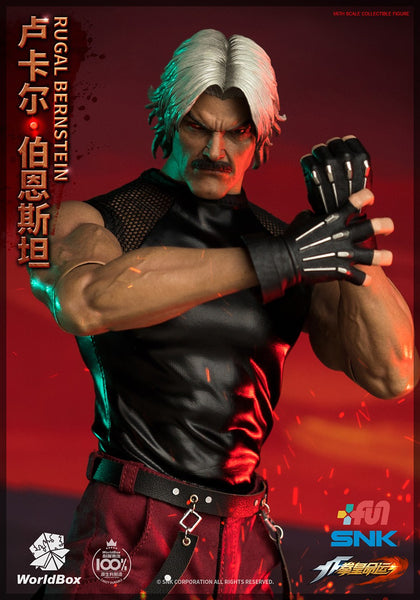 1/6 Scale The King of Fighters - Rugal Bernstein Figure by WorldBox