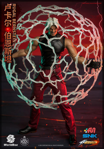 1/6 Scale The King of Fighters - Rugal Bernstein Figure (Deluxe Version) by WorldBox