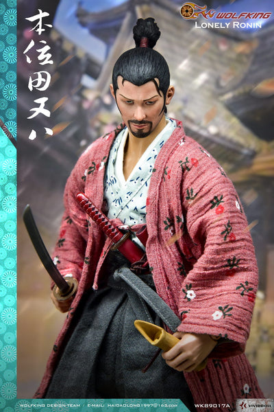 1/6 Scale Lonely Ronin Figure by Wolfking