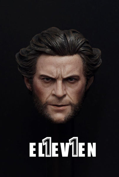 1/6 Scale Origins Logan Head Sculpt by Eleven