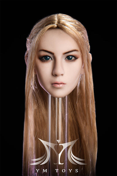 1/6 Scale Female Head Sculpt (YMT-09A) by YMToys