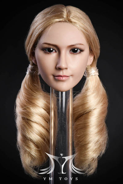1/6 Scale Female Head Sculpt (YMT-10B) by YMToys