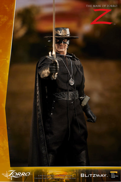 1/6 Scale The Mask of Zorro (1998) - Zorro Figure by Blitzway
