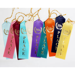 Place Ribbons 11th-20th place   (Pack of 25)