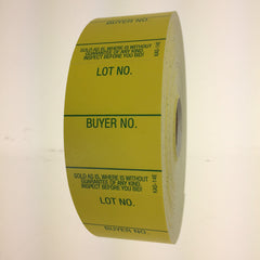 Style 14 Lot/Buyer Labels, E-Z Off (1000/roll)