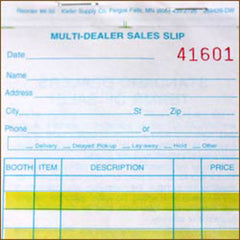 Multi-Dealer Sales Books