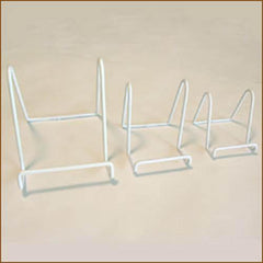 White Vinyl Coated Stands (3 Sizes)