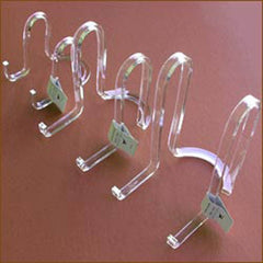 "Acrylic Plate Caddies| Size/Qty| Medium (6"") - Qty 1 - $4.95"