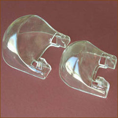 "Clear Bubble Holders| Size/Qty| Small - Qty 1 - 6""- 9"" plates - $2.35"