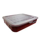 Alpha Bin - 32 Slot Tag/Label Organizer