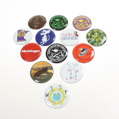 "1-1/2"" Round #2 Promotional Button"