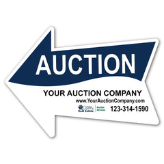 Custom Full Color Arrow Yard Sign