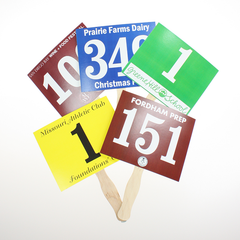 Buy Auction Paddles | Numbered Bid Paddles | Kiefer ... Auction Paddles Png