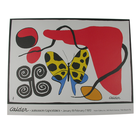 Calder Exhibition Posters from 1972 & 1974 (Set of 2)*