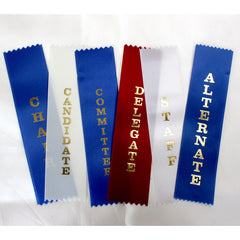 Stock Association Meeting Ribbons - package of 25 ribbons