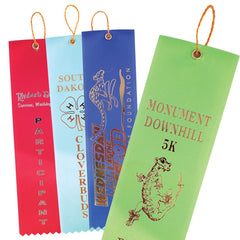 Custom Printed Flat Top Ribbons (Price per 100)