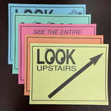 Variety Pack of Directional Signs (20/pack)