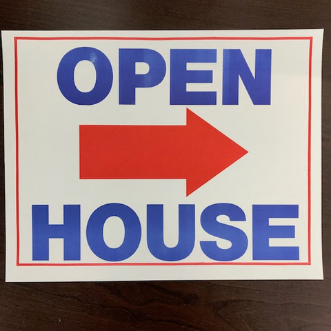 Open House Arrow Signs (50/pack)
