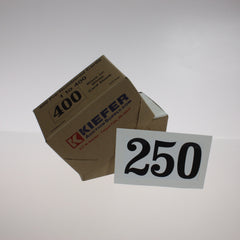 "NEW Box of 400 4"" x 6"" Pre-numbered Cards"