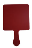 BRAVO Full Color Permanent Plastic Numbered Bidder Paddles, 1 sided