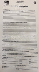 Indiana 2-part Real Estate Contract (50 sets) Form #2