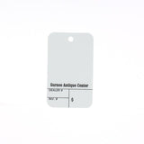 Die Cut Custom Tags 1000/pack